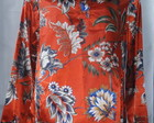 Camisa De Cetim,  La Carminha - Floral