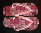 Chinelo Havaiana Patchwork Rosa
