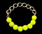 Pulseira Amarelo Neon