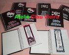 AGENDINHAS PERSONALIZADAS MONSTER HIGH