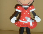 Boneca Fofucha em Eva 3d Minnie