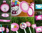 Festa Personalizada Hello Kitty