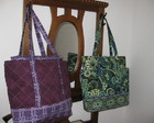 Bolsa dupla com bolso lateral