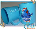 Caneca plstica Personagens