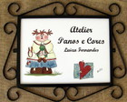 Placa Atelier  Panos e Cores