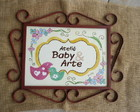 Placa Ateli Baby & Arte