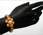 Shamballa Flor Caramelo