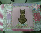 Capa Para Notebook - Gatinha Patchwork