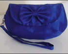 Clutch Tafet Azul