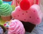 Candy Colors Cupcake KIT ESPONJA