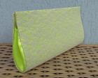 Clutch Renda Neon - Frete Grtis