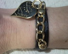 Pulseira Corao Love - FRETE GRTIS