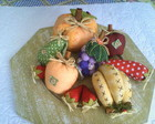 cesta frutas de patchwork