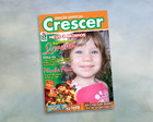 Convite Capa de Revista Crescer