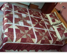 Colcha em patchwork- casal
