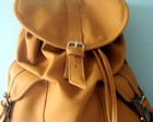 Mochila 2 Bolsos Caramelo
