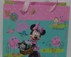 25 Sacolas Minnie Rosa (pp)