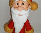 Papai Noel em biscuit