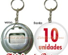 10 Abridores 5,5cm Personalizados