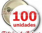 100 Botons 3,5cm Personalizados
