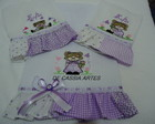 KIT BORDADO BONECAS LILAS