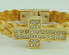 Pulseira  Crucifixo (refcd0208)