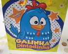 25 Sacolas Galinha Pintadinha PP