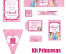 Kit Digital Princesas
