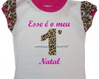 Camiseta  &quot;Esse  o meu...Natal&quot;
