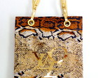 Max Bolsa Snake Skin