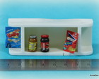 Kit arm�rio a�reo + miniaturas alimentos