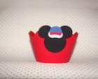 Forminha de Cupcake do Mickey Marinheiro