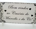 Placa Para Recepo De Casamento