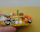 Miniatura Bandeja Sushi e Sashimi