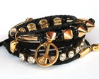 Conjunto de pulseiras rocker II