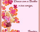 CD PERSONALIZADO DANCE COM A BARBIE