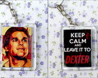 Chaveiro - Dexter Keep Calm