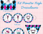Kit Festa Monster High  Draculaura