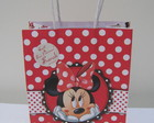 25 Sacolas da Minnie Personalizada ( P)
