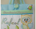 Caderno Do Beb� - Kit Coruja 3