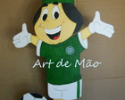 Mascote Guarani - mdf