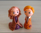 Srius e Lupin chibis - Harry Potter