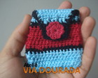 Porta Niquel Azul / Vermelho