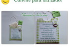 Convite batizado ou cha de bebe