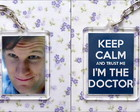 Chaveiro Doctor Who - Keep Calm
