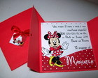 Convite Minnie Vermelha