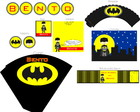 Kit Festa Pronta Batman