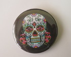Botton Personalizado - Skull Flower 02