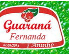 Rótulo guaraná, coca-cola