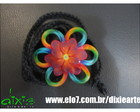 Headband  Floral Degrad�